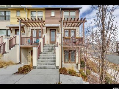 South Jordan Townhouse For Sale: 11394 S Okanogan Ln