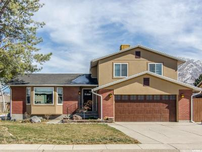 Cottonwood Heights Single Family Home For Sale: 1937 E Curtis Dr