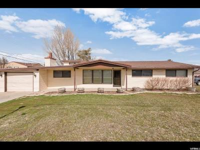 Taylorsville Single Family Home For Sale: 1550 W 4200 S