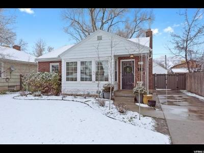 Salt Lake City Single Family Home For Sale: 2725 S Hartford St E