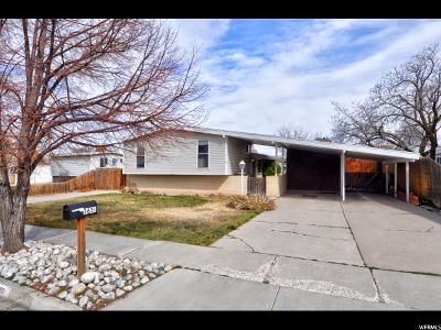 West Valley City Single Family Home For Sale: 3651 S Bannock St W