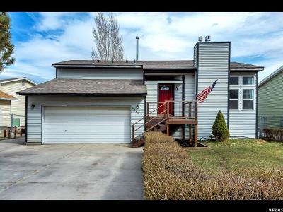 West Jordan Single Family Home For Sale: 6389 S Lotus Way W