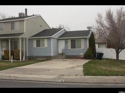 West Jordan Single Family Home For Sale: 1530 W Ponderrosa Ln