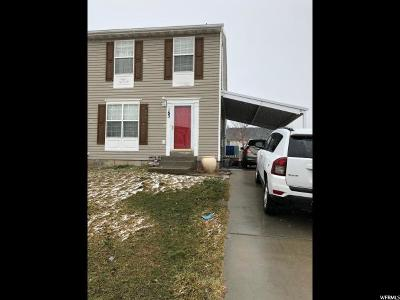 Tooele Single Family Home For Sale: 183 W Wallace Way N