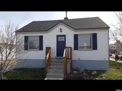 Salt Lake City Single Family Home For Sale: 17 W Gregson Ave