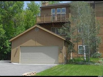Salt Lake City Single Family Home For Sale: 72 N Pioneer Fork Rd