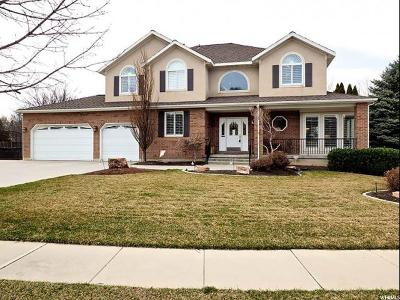 Cottonwood Heights Single Family Home For Sale: 7946 S Hunters Meadow Cir E