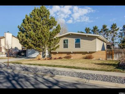 West Jordan Single Family Home For Sale: 1608 W 8295 S