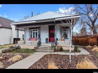Salt Lake City Single Family Home For Sale: 931 E Laird Ave