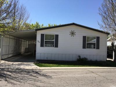 Salt Lake City Single Family Home For Sale: 226 E Trailorama Ave S