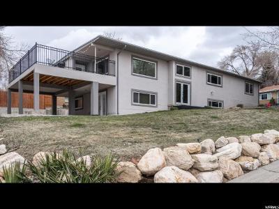 Salt Lake City Single Family Home For Sale: 3275 E Oakcliff Dr S