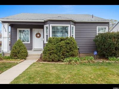 Salt Lake City Single Family Home For Sale: 2539 S Imperial St