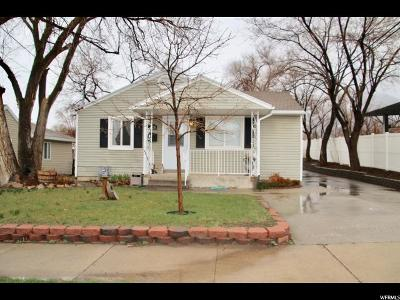 Tooele UT Single Family Home For Sale: $170,000