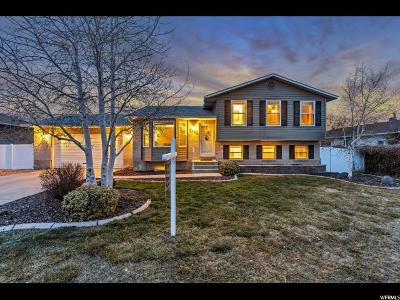 West Jordan Single Family Home For Sale: 2558 W 7130 S