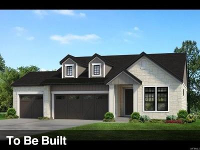 Cottonwood Heights Single Family Home For Sale: 9290 S San Giorgio Ln E #338
