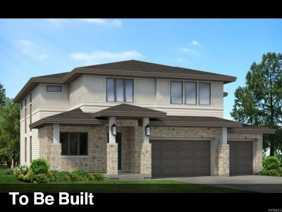 Cottonwood Heights Single Family Home For Sale: 3404 E Sylvette Ln S #LOT225
