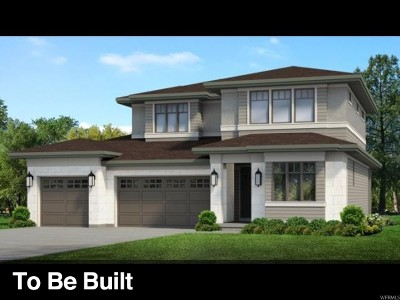 Cottonwood Heights Single Family Home For Sale: 3396 E Sylvette Ln S #LOT224