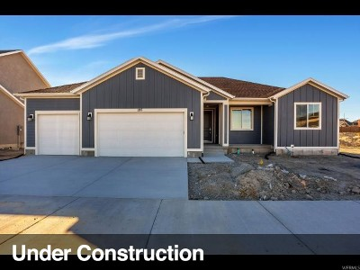 Stansbury Park Single Family Home For Sale: 284 W Box Creek Dr