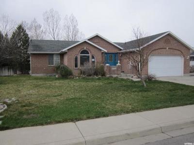 Mapleton Single Family Home For Sale: 1373 N 600 E