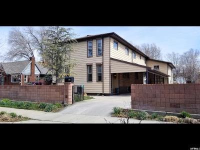 Salt Lake City Single Family Home For Sale: 1967 S 800 E