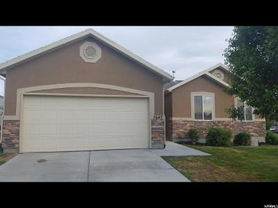 Eagle Mountain Single Family Home For Sale: 7647 N Jimmy Ln E