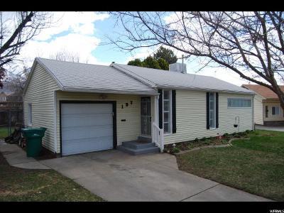 Layton Single Family Home For Sale: 197 N Talbot Cir E