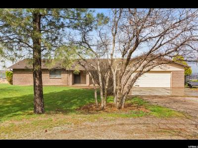 Santaquin Single Family Home For Sale: 13460 S Highway 6
