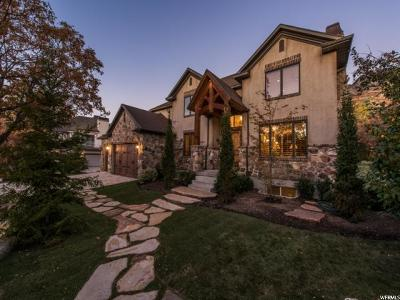 Cottonwood Heights Single Family Home For Sale: 8869 S Sutton Way