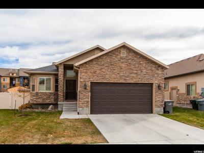 South Jordan Single Family Home For Sale: 11167 S Aspen Peak Dr