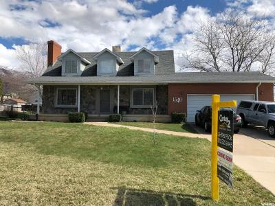 Layton Single Family Home For Sale: 1540 E Gentile N