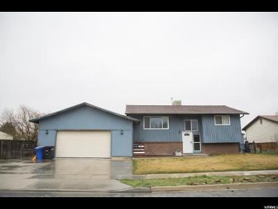 West Jordan Single Family Home For Sale: 7663 S 2450 W