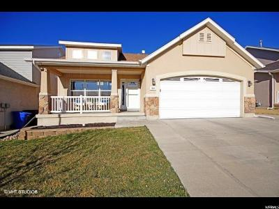 West Jordan Single Family Home For Sale: 7518 S 6670 W