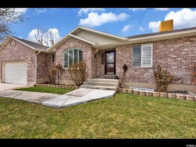 South Jordan Single Family Home For Sale: 9682 S 1600 W