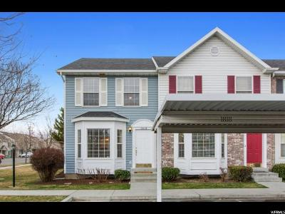 Provo Townhouse For Sale: 1818 W 1010 N