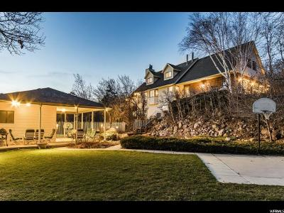 Holladay Single Family Home For Sale: 5828 S Whitewater Dr