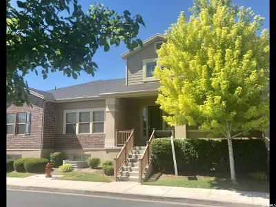 South Jordan Townhouse For Sale: 720 W Mystic Creek Way S