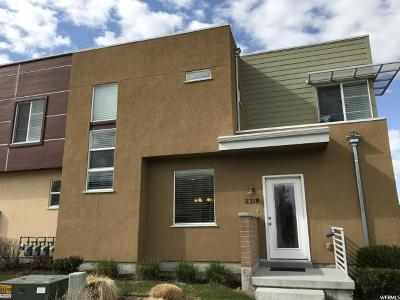 South Jordan Townhouse For Sale: 11318 S Ropemaker Rd