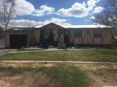 Fillmore Single Family Home For Sale: 245 W 300 S