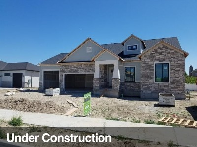 South Jordan Single Family Home For Sale: 3039 W Renegade View Ln #411