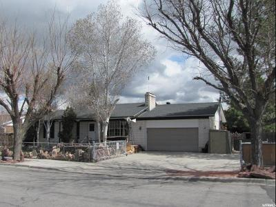 West Jordan Single Family Home For Sale: 6987 S 2160 W