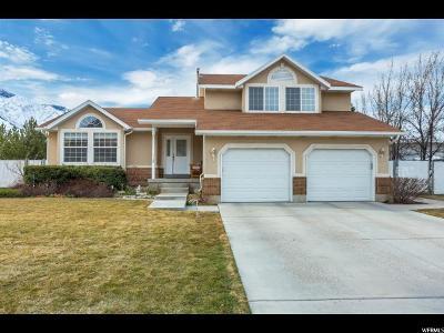 Mapleton Single Family Home For Sale: 130 E 1400 N