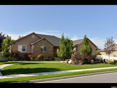 Kaysville Single Family Home For Sale: 1620 Crestmont Way