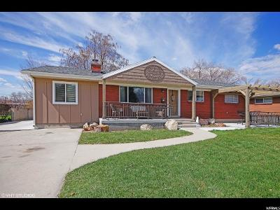 Midvale Single Family Home For Sale: 6868 S 345 E