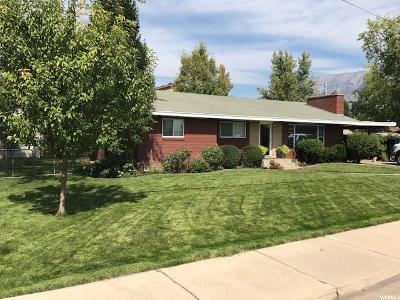 Provo Single Family Home For Sale: 1324 W 1050 N