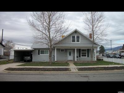 Tooele Single Family Home For Sale: 56 W 100 S
