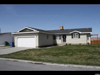Hyrum Single Family Home For Sale: 97 E Manitoban Ln S