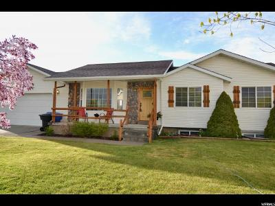 Hyrum Single Family Home For Sale: 1261 E 25 S