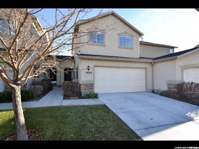 Lehi Townhouse For Sale: 1969 W 2175 N