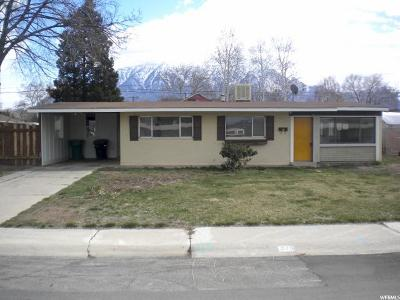 Orem Single Family Home For Sale: 570 N 680 W