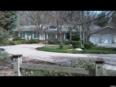 Holladay Single Family Home For Sale: 5365 S Cottonwood Ln E